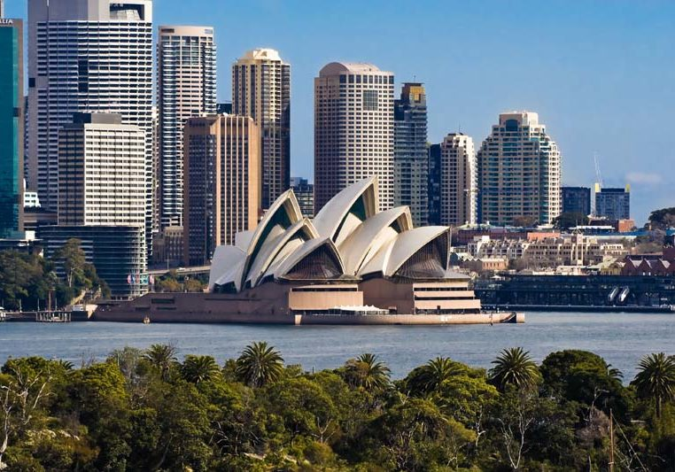 Sydney Opera House and Skyline